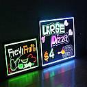 Рекламная Led доска Fluorescent Board 50х70, фото 3
