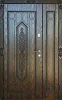Вхідні двері Безкоштовна доставка на адресу zl-84-1200*2050права полімер плита карамель 15мм