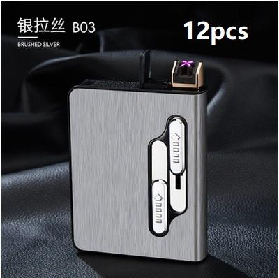 Портсигар на 20 сигарет с зажигалкой купить электронная сигарета одноразовая без никотина купить в спб