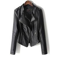 Женская кожаная куртка. Модель 2119, фото 5
