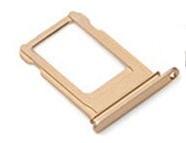 Держатель Sim-карты для iPhone 11 Pro, золотистый, на одну Sim-карту