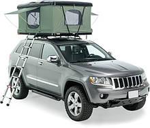 Автомобильная палатка COLUMBUS черный пластик/серая ткань 210*125см