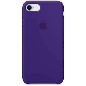 Silicone case Iphone 7/8 Фиолетовый