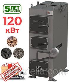 Твердотопливный пиролизный котел 120 кВт DM-STELLA