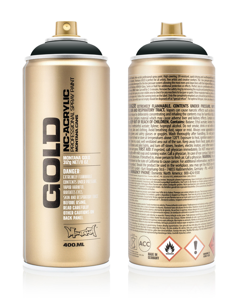 Краска Montana Gold 8145 Антрацит 400 мл (Anthracite) (285509)