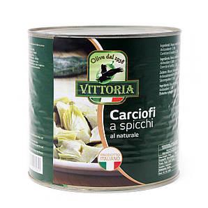 Артишоки VITTORIA Spicchi natural 2,65 л 6 шт/ящ
