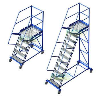 Лестницы складские платформенные