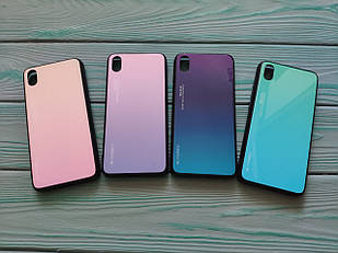 Чехол Gradient для Xiaomi Redmi 7A( 5 цветов)