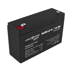 Аккумулятор AGM LP 6-14 AH SILVER (2018) (2573)