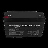 Аккумулятор AGM LP 6-14 AH SILVER (2018) (2573), фото 2