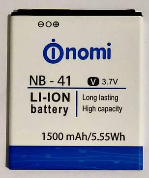 """Акумулятор """"Original"""" для Nomi I400 (NB-41) 1500mAh, фото 2"""