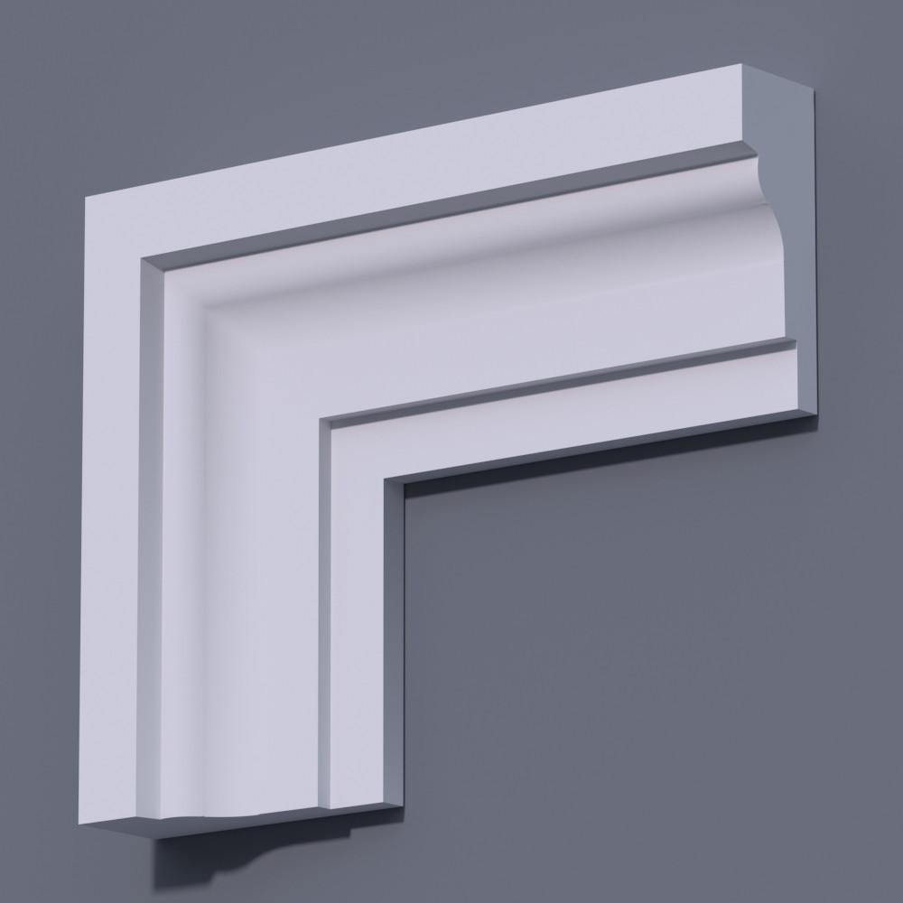 Фасадный молдинг (наличник) Фм-6 (h 140)
