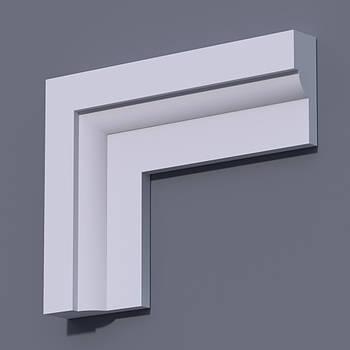 Фасадний молдинг (наличник) Фм-7 (h 120)