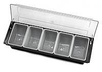 Барный ящик 500*160*90 мм на 5 отделений, фото 1