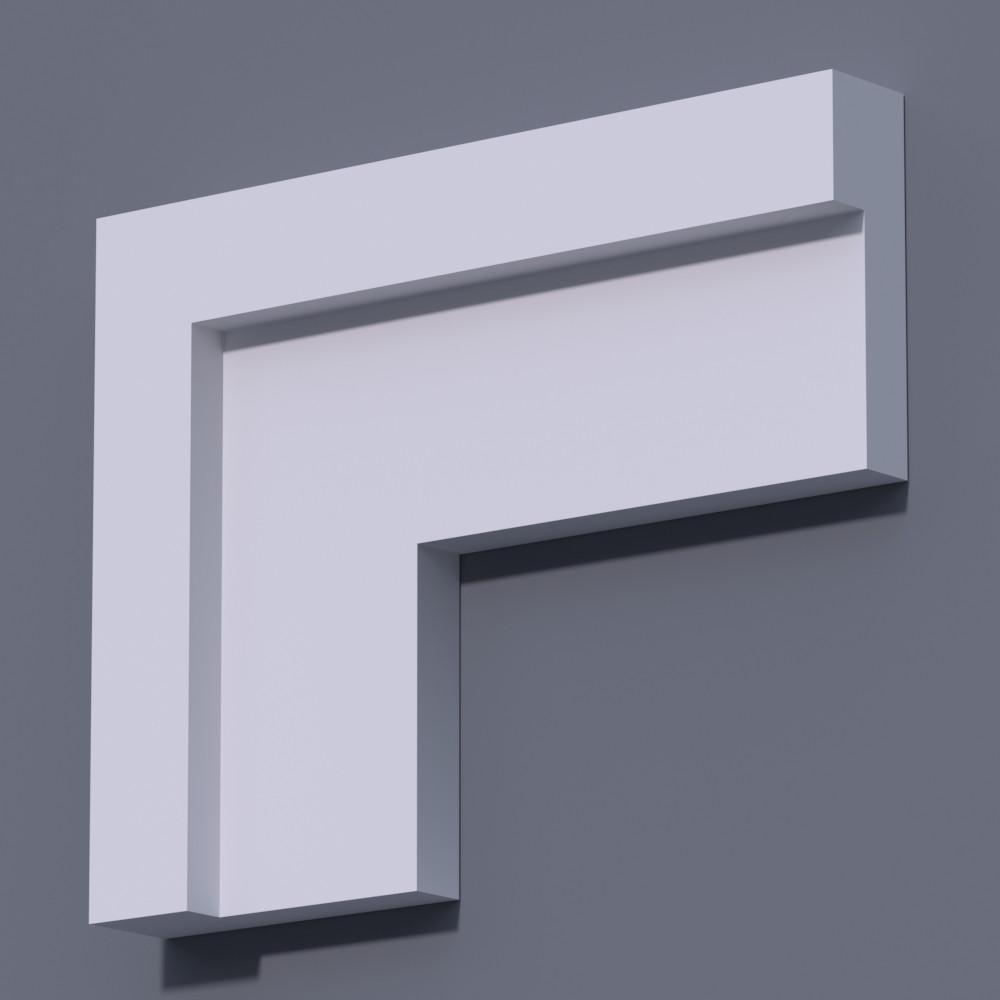 Молдинг на фасад, фасадный наличник Фм-9 (h 150 мм)
