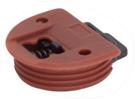 Раздвижная система для фасадов малого веса:  ригель верхний, F3M (Только с кодом 606)