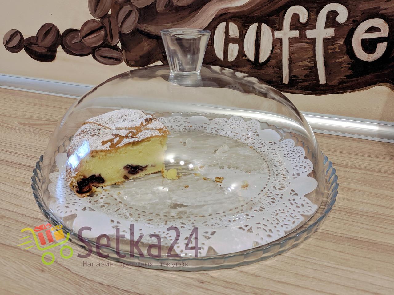Блюдо для торта с крышкой Pasabahce Patisserie 95198 - 32см