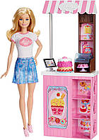 Кукла Барби магазин пекарня Barbie Careers Bakery Shop DMC35