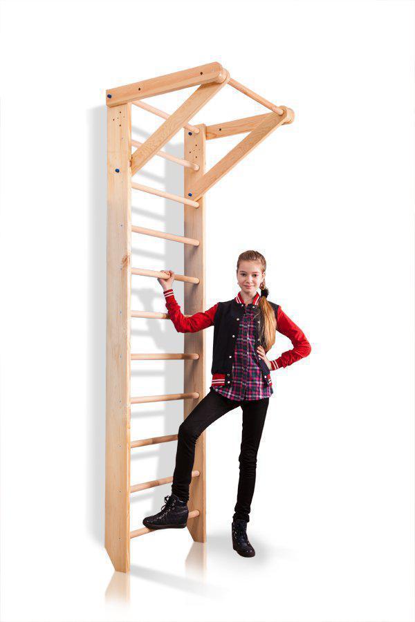 Шведская стенка деревянная с турником «Sport 1-240»