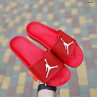 Мужские сланцы Jordan Red, Реплика, фото 1