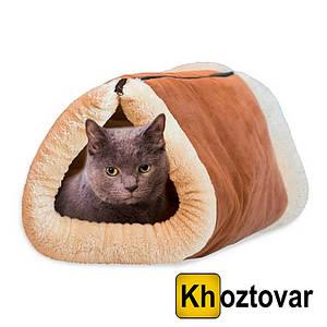 Спальний мішок-лежанка з тепловідбивним ефектом для кішок Kitty Shack