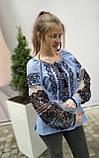 Вишиванка жіноча на домотканому полотні, рукав бохо шифоновий р-ри 42-56, 750/850грн (ціна за 1 шт + 100 грн), фото 2