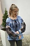 Вишиванка жіноча на домотканому полотні, рукав бохо шифоновий р-ри 42-56, 750/850грн (ціна за 1 шт + 100 грн), фото 5