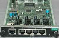 Плата расширения Panasonic KX-NCP1170XJ для KX-NCP1000, 4-Port Digital Hybrid Extention Card, KX-NCP1170XJ
