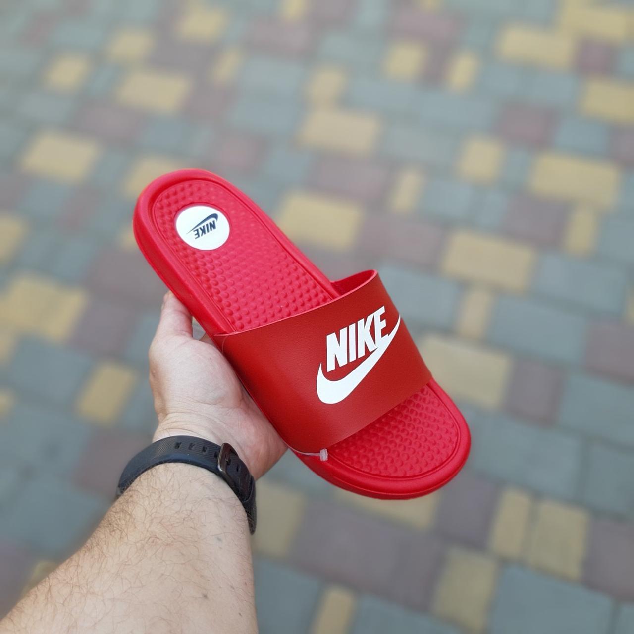 Мужские сланцы Nike Red, Реплика