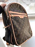 Брендовый рюкзак Louis Vuitton M332 коричневый, фото 3