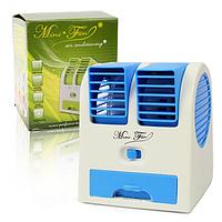 В ентилятор mini fan |  Мини вентилятор Conditioning Air Cooler USB Electric Mini Fan настольный
