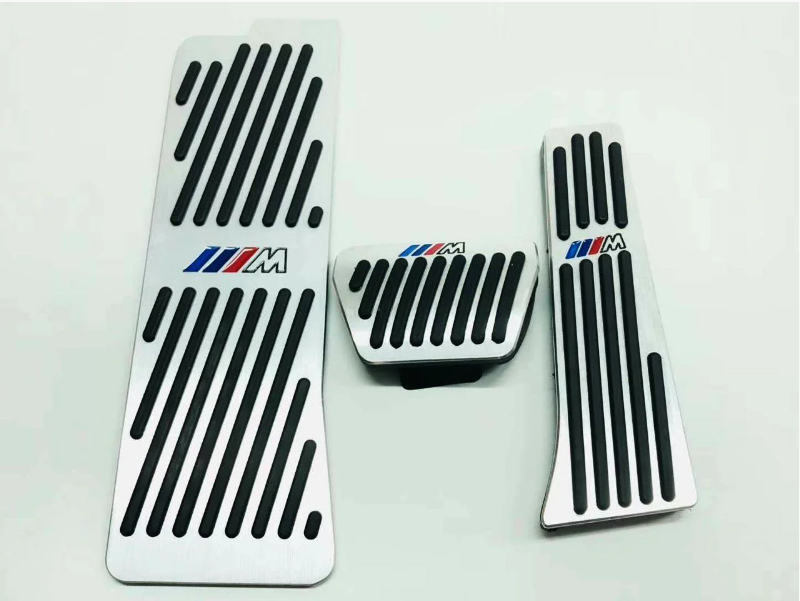 Накладки на педали BMW M-Performance 5-ой серии G30 АКПП (алюминий, без сверления)