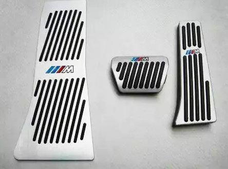 Накладки на педали BMW M-Performance X5, X6 серии АКПП (алюминий, без сверления)