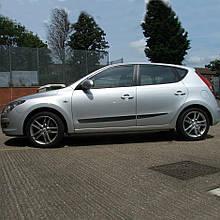 Молдинги на двері для Hyundai i30 FD 5Dr H/B 2006-2012