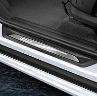 Накладки на пороги BMW M-Performance X3, X4 серии ( с подсветкой ), 2 штуки