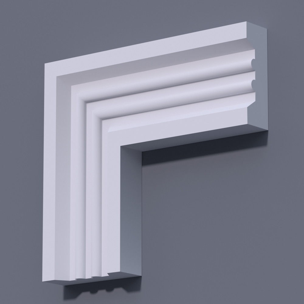 Фасадный молдинг (наличник) Фм-15 (h 150)