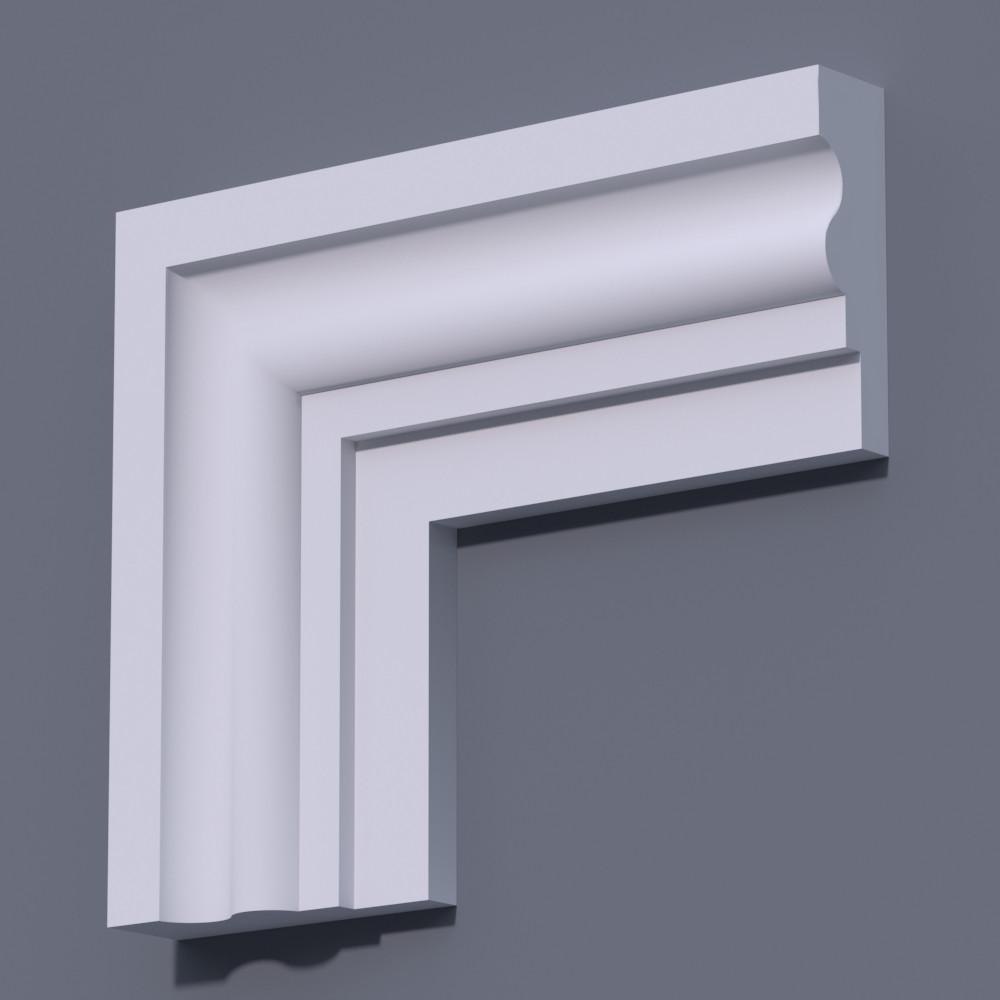 Фасадный молдинг (наличник) Фм-16 (h 170)