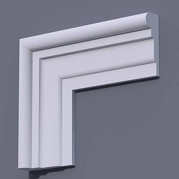 Фасадний молдинг (наличник) Фм-17 (h 150)