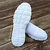 Сліпони білі мокасини літні кросівки сітка текстиль жіночі легкі сліпони білі кросівки сітка арт 685, фото 5