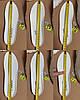 Сліпони білі мокасини літні кросівки сітка текстиль жіночі легкі сліпони білі кросівки сітка арт 685, фото 6