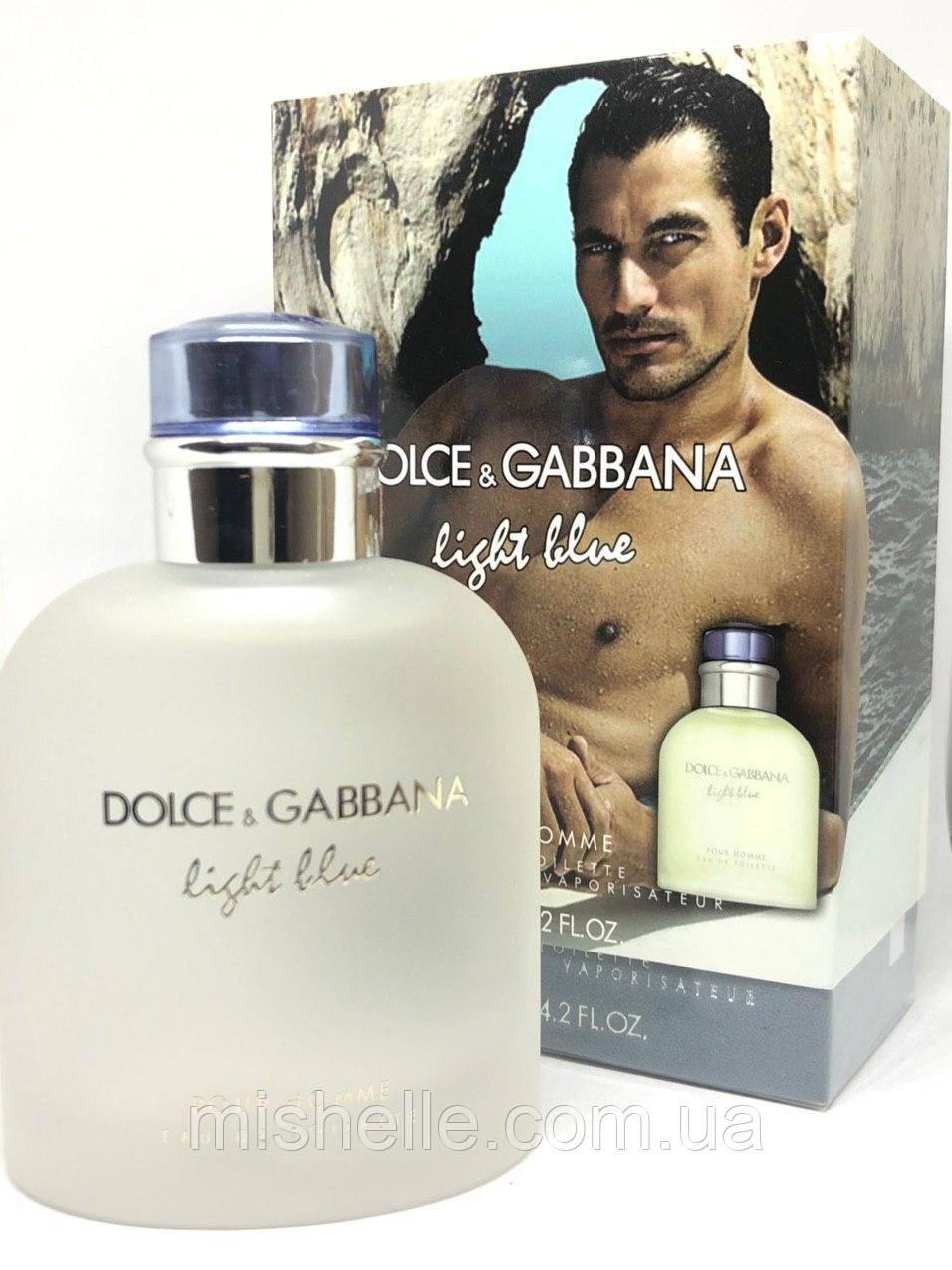 Мужской одеколон Dolce & Gabbana Light Blue Pour Homme (Дольче Габбана Лайт Блю Пур Хом) в чехле!