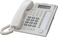 Системный телефон Panasonic KX-T7735UA White (аналоговый) для АТС Panasonic KX-TE/TDA, KX-T7735UA