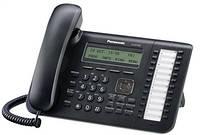 Проводной IP-телефон Panasonic KX-NT543RU-B Black для АТС Panasonic KX-TDE/NCP/NS, KX-NT543RU-B