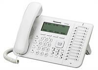 Проводной IP-телефон Panasonic KX-NT546RU White для АТС Panasonic KX-TDE/NCP/NS, KX-NT546RU