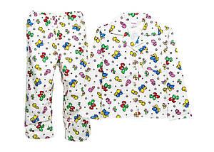 Детская теплая пижама 98-110