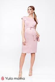 Нежное платье для беременных и кормящих из вискозы,  размеры от 44 до 50