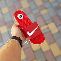Жіночі сланці Nike Red,репліка, фото 1
