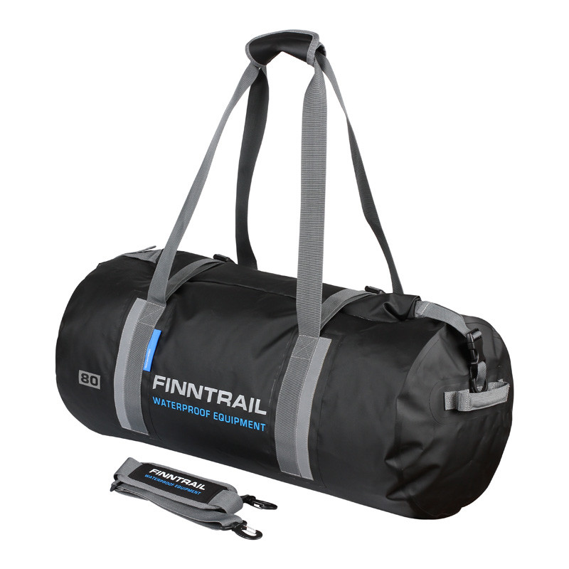 Мотосумка Finntrail Водонепроницаемая дорожная сумка-чемодан 80L