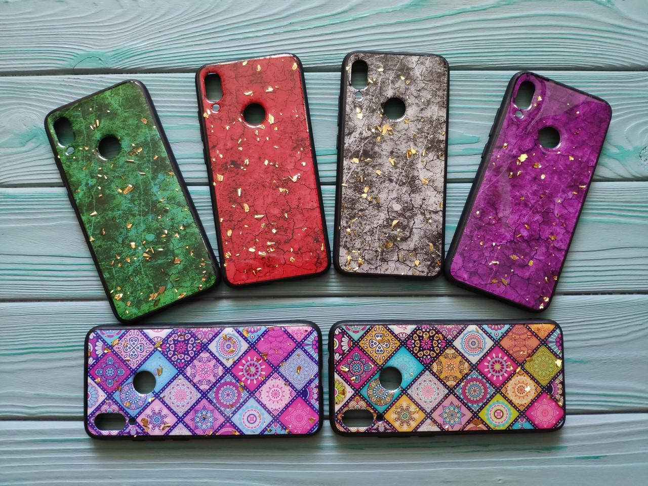 Чохол мармуровий для Xiaomi redmi 7 (6 кольорів)