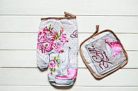 "Кухонный набор рукавичка+прихватка ""Прованс"", фото 1"